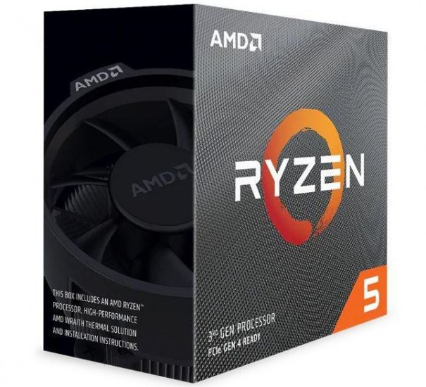 AMD RYZEN 5 3600 3 6GHz (4 2 GHz Max) 6-Core 12 Threads 65W AM4 with