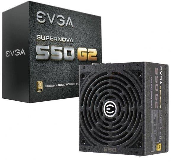 evga g2 550w 80 gold full modular psu