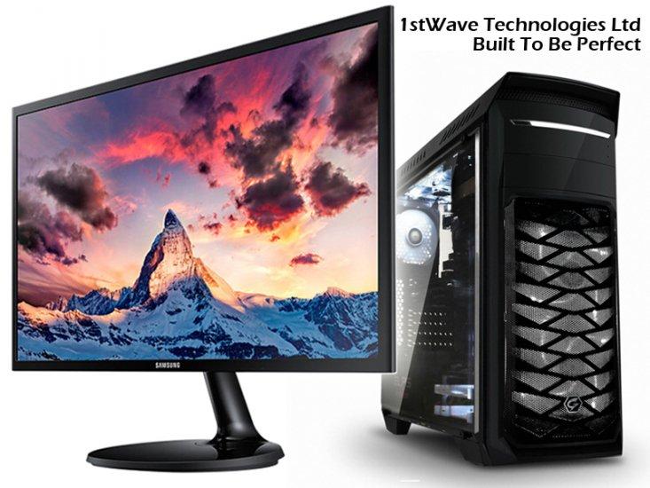 WIN10 SAMSUNG 27 i7 8700K 16GB 2400 1TB GTX1060 6GB - $2,519 00 incl
